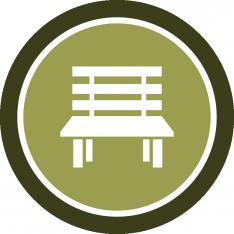 Badge de mobiliario huertano